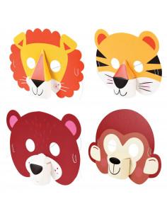 4-masques-animaux-3-d-en-carton-cadeaux-invites-anniversaire-animaux-jungle