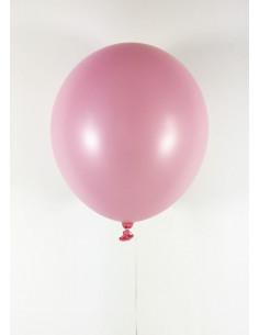 10 ballons rose clair en latex