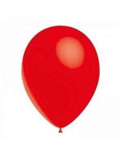 10 ballons rouges en latex