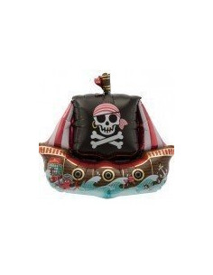 Ballon en aluminium bateau de Pirates