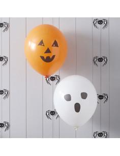 10 ballons gonflables  pour décoration fête Halloween