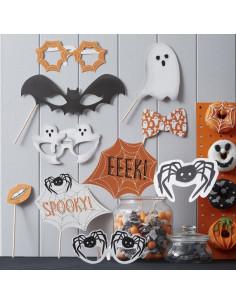 Kit photoboot pour décoration fête Halloween