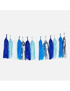 Guirlande tassel coloris bleus my little day