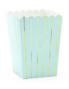 6-petites-boites-popcorn-bleu-ciel-rayures-dorees-decoration-baby-shower-bapteme-anniversaire-mariage