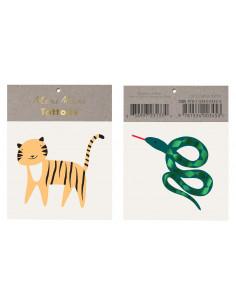 2 tatouages : 1 tattoo tigre