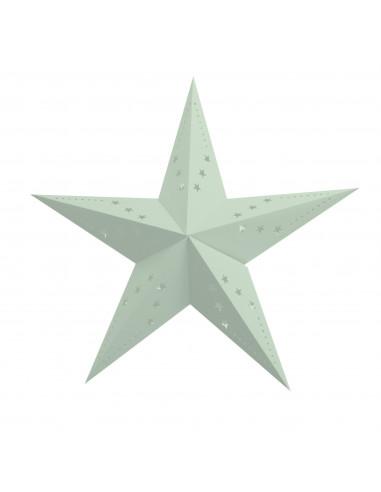 etoile-lanterne-carton-vert-menthe-decoration-baby-shower-bapteme-anniversaire-mariage
