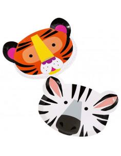 assiettes-tete-zebre-tigre-decoration-de-table-anniversaire-animaux-de-la-jungle-savane