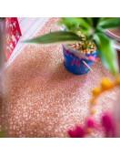 Chemin de table Etincelant paillettes rose gold 30cmsX3 mètres