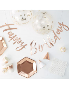 Kit anniversaire rose gold