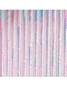 pailles en papier irisees blanches deco baby shower bapteme anniversaire baby shower