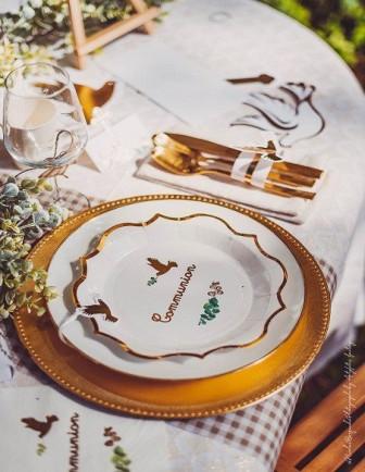 Déco Table Communion