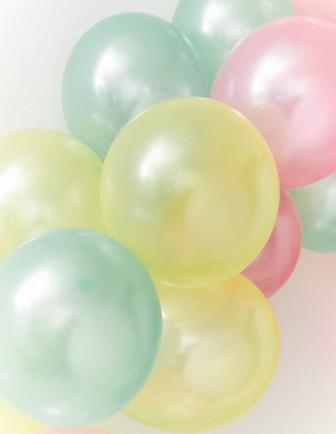 Ballons Baptême Unis Latex