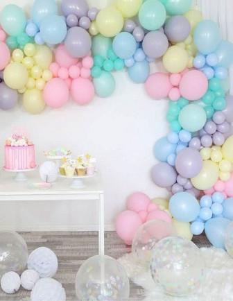 Ballons Anniversaire Enfant Unis Latex