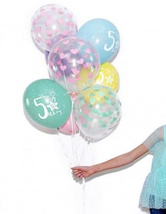 Ballons Anniversaire Enfant Imprimés Latex