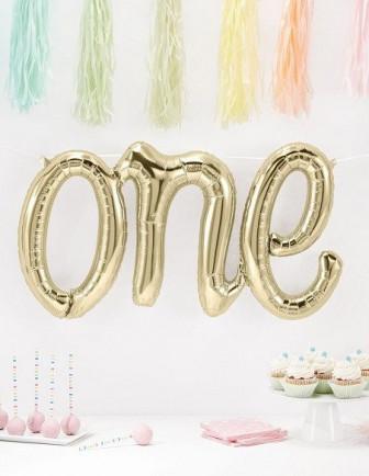 Ballons Anniversaire 1 An