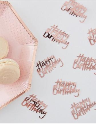 Confettis de Table Anniversaire Adulte