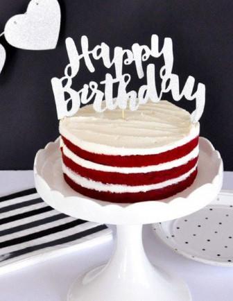 Cake Topper Anniversaire Adulte