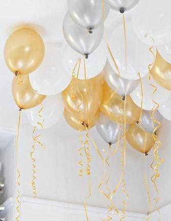 Ballons Unis Latex Anniversaire Adulte