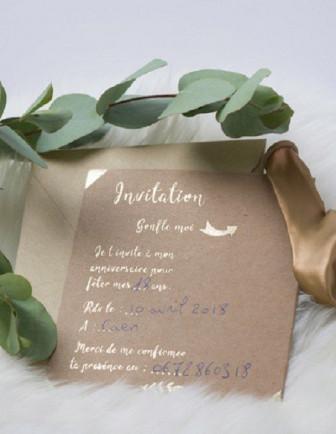 Invitations Anniversaire Adulte, Papeterie