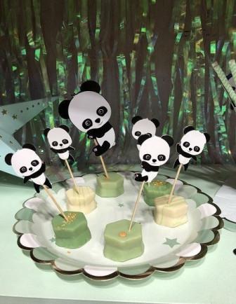 Anniversaire 1 an Thème Panda