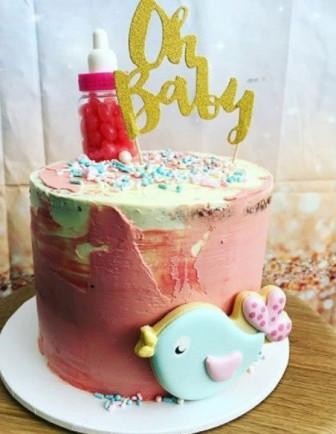 Déco Gateau Cake Topper Baby Shower