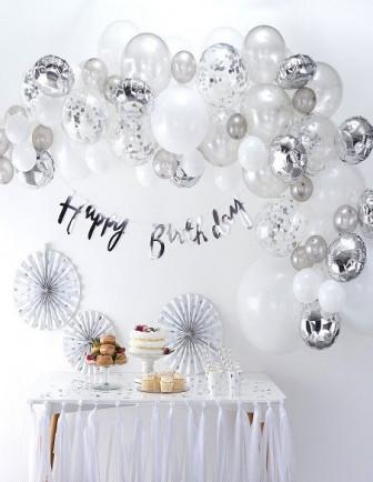 Kit Arche Ballon Anniversaire Adulte