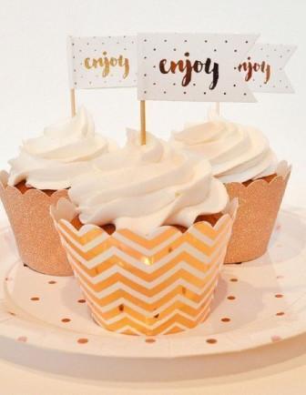 Kit Cupcake Baby Shower
