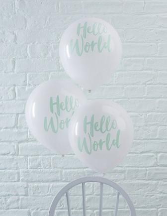 Ballons Baby Shower Imprimés Latex