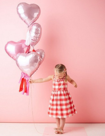 Ballons Baby Shower Métalliques Unis