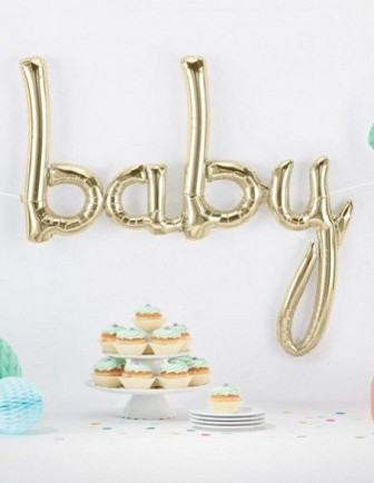Ballons Baby Shower Lettres