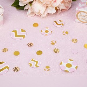 confettis-de-table-baby-shower-deco-de-table-confettis-rose-pastel-et-dore