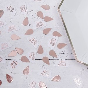 confettis-de-table-baby-shower-deco-de-table-rose-gold-hello-world