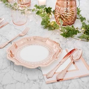 couverts-baby-shower-decoration-de-table-baby-shower-couverts-rose-gold