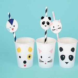 pailles-baby-shower-animaux-kawai-panda