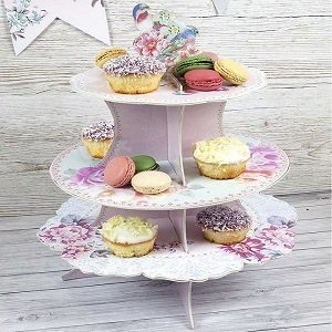 presentoir-gateau-baby-shower-presentoir-fleurs-bohemes