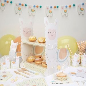 presentoir-gateau-baby-shower-presentoir-lama-pastel