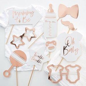 baby-shower-rose-gold-guirlande