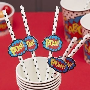 baby-shower-theme-super-heros-pailles