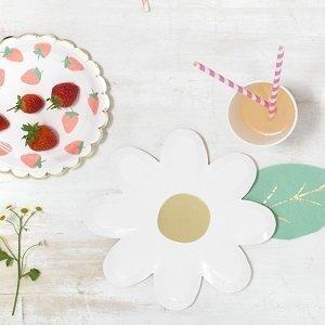 deco-baby-shower-theme-fraises-et-cerises-assiettes