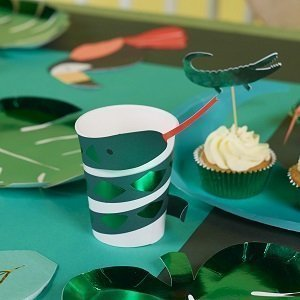 baby-shower-jungle-tropical-gobelets-serpent