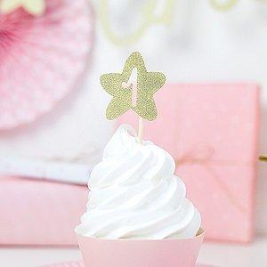 deco-gateau-anniversaire-1-an-cake-topper-etoile-doree