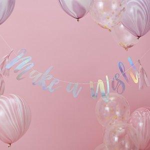 anniversaire-1-an-theme-cygne-irise-guirlandes