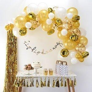 anniversaire-1-an-blanc-et-or-kit-arche-ballons
