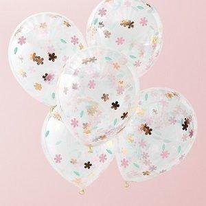 anniversaire-1-an-theme-fleurs-bohemes-ballons