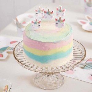 5-bougies-tetes-de-licorne-pastels-decoration-anniversaire-licorne