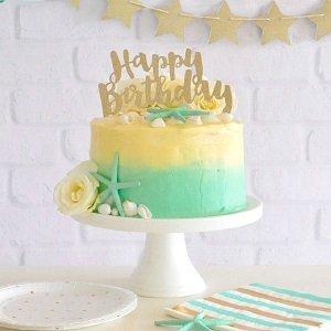 anniversaire-1-an-vert-menthe-deco-gateau
