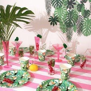 anniversaire-adulte-theme-tropical-deco-table-originale