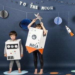 anniversaire-enfant-theme-espace-guirlande-espace
