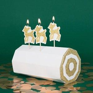 anniversaire-enfant-theme-faon-dore-decoration-gateau-bougies-faon