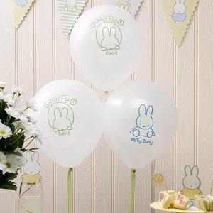 anniversaire-enfant-theme-lapin-miffy-ballons-lapins-miffy